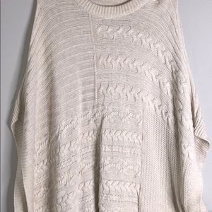 Abercrombie & Fitch winter poncho